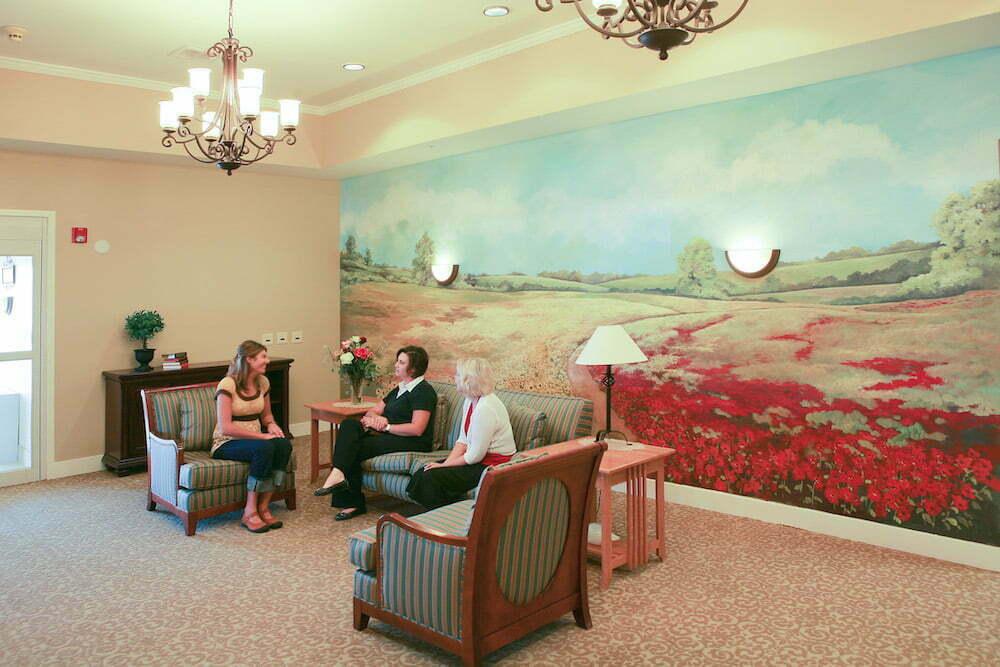 Pueblo West facility lobby