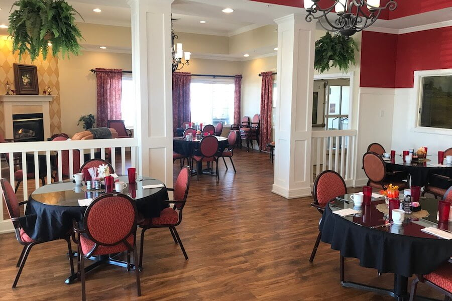 Pueblo West dining area