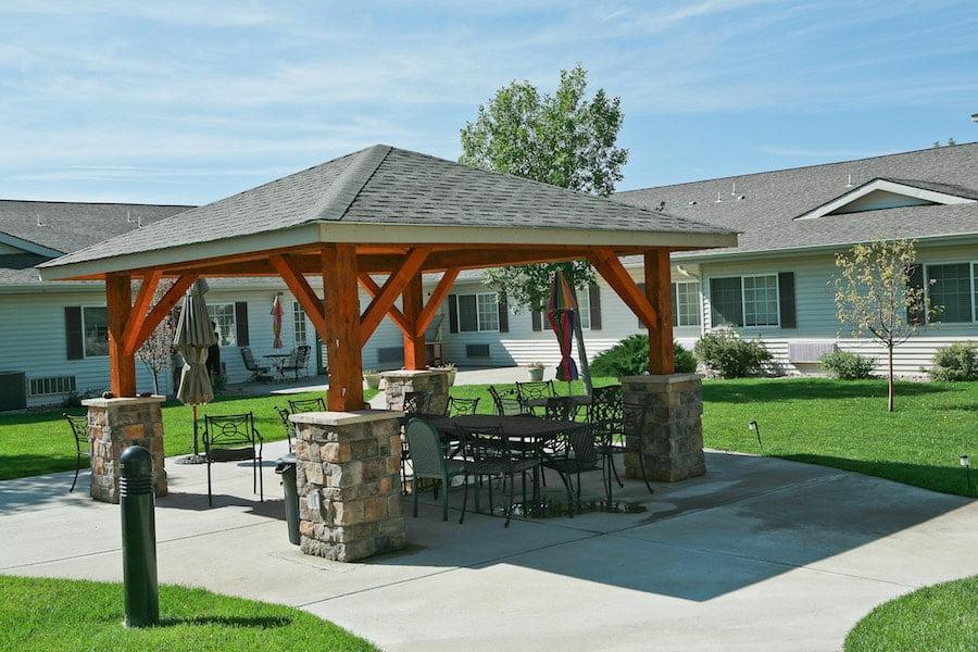 cappella of pueblo west outdoor area