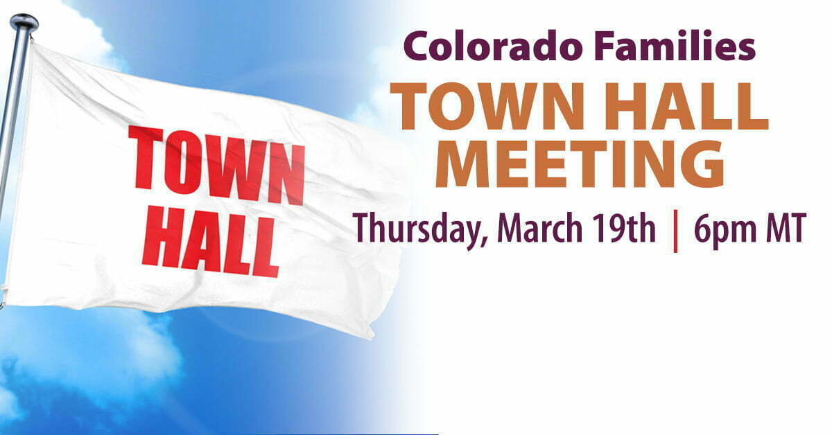 town hall colorado covid-19