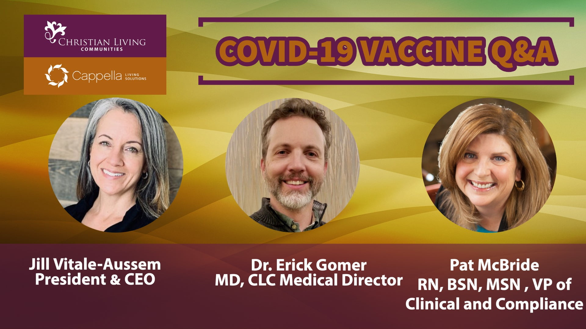 COVID-19 Vaccine Q&A banner